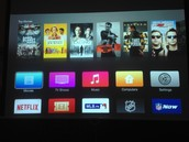 HDMI Screen - With the Apple TV on
