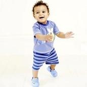 Nine to twelve months after birth..