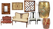 Many Styles of Home Decorating Merchandise to Choose From.