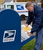 Mail Drop Off Box