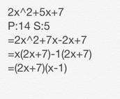Factoring Complex Trinomials