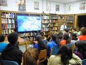 Sewanhaka Students Study the Anatomy of the Human Brain