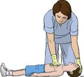 One Hand Child CPR