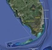 Location of Inshore marine habitats