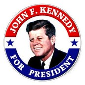 Kennedy's Political Button
