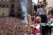 Community Festival In Madrid