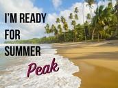 Summer Peak is here!