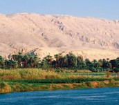 BY THE NILE RIVER