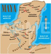 MAYAN MAP