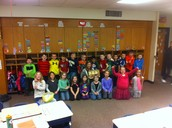 Mrs. Edwards' 2nd Grade Class