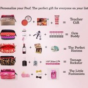 Pouf gift pack