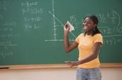 Teachers teach math