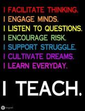 Proud to be a teacher!!