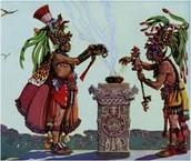 Mayans Sacrifice