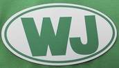 And don't forget your WJ auto magnet!