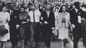 Rosa Park on the March from Selma to Montgomery