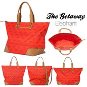 The perfect travel, beach, everything bag!