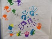 AM Class Handprints