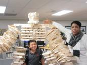 A giant robot made of styrofoam?