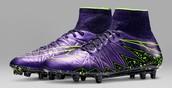 Purple Nike Hypervenoms 2
