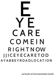 Check up on your eyes!
