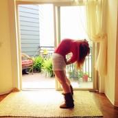 Hally <3 Porch Yoga