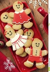 Gingerbread Man Cookie Bake Off!