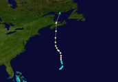 Hurricane Juan's Route