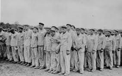 Jewish People in a Consontration Camp