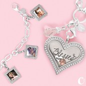 Complete the look with our Exclusive Heart Classic Locket and Dangle bracelet!