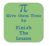Finish Lessons: 100% Complete or 0% Assessed