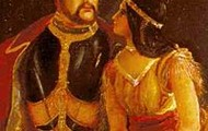 Pocahontas and John Rolfe