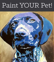 3rd Wednesday of the month- Paint Your Pet!