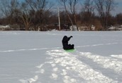 Who is this happy sledder??