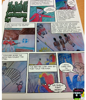Using Comic Strips to Summarize nonfiction