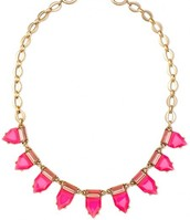 Eye candy necklace - hot pink