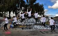 Skate Board Ramp Air Sequence