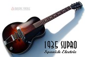1935 Supro Spanish Electric Guitar