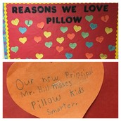 That moment when you walk down the halls of Pillow & see bulletin boards like this.