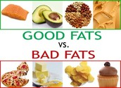 Cuts Out the Good Fats