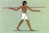 Zotikos Tekeli and his trusty javelin