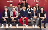 One Direction and their wax figures