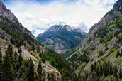 Red Mountain Pass in the San Juan Mountains