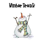 December 22- January 5 Winter Break