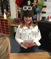 Lauren as Amelia Earhart
