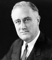 The person who was the president at the time was FDR