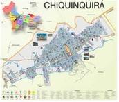 MAPA DE CHIQUINQUIRÁ