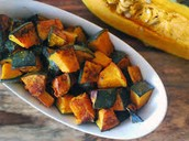 Toss cubed pieces with oil, salt, pepper, and your favorite herbs. Roast at 425 degrees for 30 min. Great to snack on!