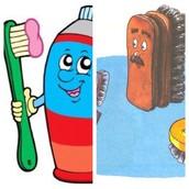 У вас есть зубная щетка? А обувная?