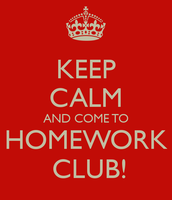 Homework Club starts Thursday, September 17th